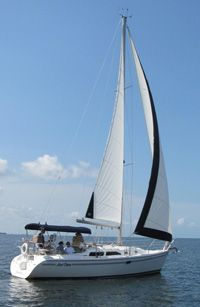 Set sail in beautiful Charlotte Harbor for a peaceful day trip with Charlotte Harbor Sailing.