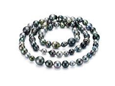 Multi Colored Mastoloni Pearl Necklace!  www.Houstonjewelry.com