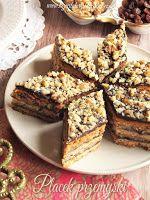Walnut Cake, Polish Recipes, Polish Food, Breakfast Menu, Pumpkin Cheesecake, Banana Bread, Sweet Tooth, Good Food, Food And Drink