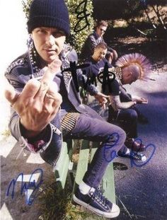 Rancid...my parent's still have this poster up in my old bedroom!