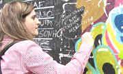 Fantástico - Muro abandonado vira espaço colaborativo na Lapa, no Rio   globo.tv
