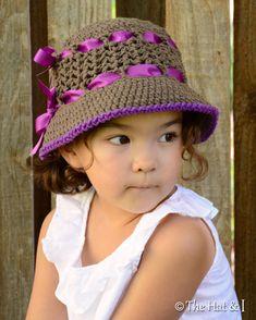 CROCHET PATTERN Sugar & Spice a crochet sun hat von TheHatandI