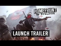 Homefront: The Revolution Launch Trailer (Official) - YouTube. Homefront: The Revolution is an open-world first person shooter where you must lead the Resistance movement in guerrilla warfare against a superior military force.  A living, breathing, open world responds to your actions - you and your Resistance Cell can inspire a rebellion on the streets and turn Occupation into Revolution, as oppressed civilians.. #Gaming #VideoGames #PCGame #XboxOne #PlayStation4 #PS4 #FPS…