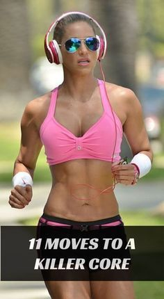 11 exercises to help you get those hard abs you've always wanted. #fitness #workout #health