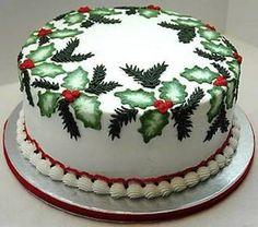 Resultado de imagen para tartas navideñas