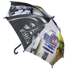 Paraguas de Star Wars. Paraguas ideal para ir protegido de la lluvia a cualquier sitio y siempre acompañado su personaje favorito.