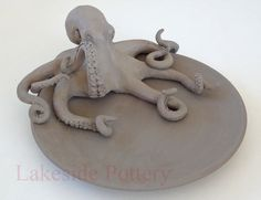 clay octopus bowl - Google Search