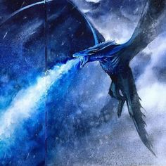 Likes: comments: 3 – Game of Thrones Fanart (@ art.fir … - Game of Thrones Ice Dragon Game Of Thrones, Drogon Game Of Thrones, Game Of Thrones Dragons, Dany's Dragons, Dragon Rpg, Dragon Games, Fantasy Dragon, Game Of Thrones Wallpaper, Game Of Thrones Artwork