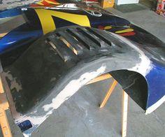 Simple Methods for molding Fiberglass and Carbon Fiber