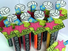 Cute volleyball tubes!