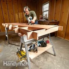 Maximize Your Sawhorses
