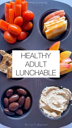 Easy Healthy Meal Prep, Quick Healthy Snacks, Easy Snacks, Easy Healthy Recipes, Healthy Eating, Easy Healthy Lunch Ideas, Healthy Filling Meals, Healthy Travel Snacks, Quick Healthy Breakfast