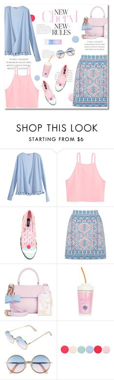 """colors of the wind"" by limass ❤ liked on Polyvore featuring Calypso St. Barth, Iron Fist, Oasis, In Awe of You, Sunday Somewhere and Nails Inc."