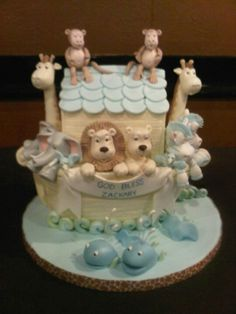 Baptism cake.  Too cute... a little out of my league though!