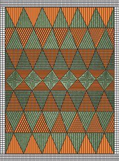 Triangular Pattern by Kanika Mathur