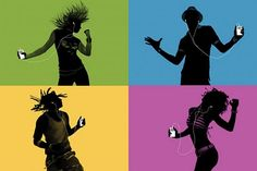 ipod campaign silhouettes - Google Search