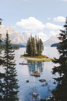 ~~Spirit Island Summer | Maligne Lake, Tonquin Valley, Alberta, Canada | by Alex Strohl~~