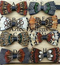 This Handmade feather bow ties, huge discount shipping on multiple bowties. is just one of the custom, handmade pieces you'll find in our bow ties shops. Tie Crafts, Mens Ties Crafts, Make A Tie, Tie Shop, Feather Crafts, Women Ties, Wedding Ties, Trendy Wedding, Boutique Hair Bows