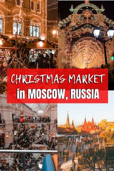 Visiting Moscow in Winter: Moscow Christmas Market Experience Christmas Markets Europe, Christmas Travel, Holiday Travel, Europe Travel Tips, Travel Destinations, Budget Travel, Travel Ideas, Beautiful Places To Visit, Cool Places To Visit