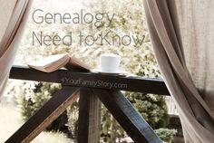 7 #Genealogy Things You Need to Know Today, Sunday, 8 Jun 2014, via 4YourFamilyStory.com. #needtoknow #familytree