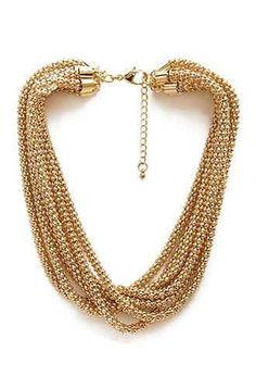 10 Hermosos collares de moda dorados (7)