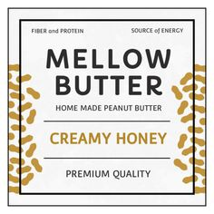 Peanut Butter Product Label Template - OnlineLabels.com