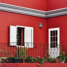 "San Deco dış cephe renk kartelasının eşsiz üyesi ""Kırmızı"" San Deco exterior color catalogue's unique member; Red . #Red #Wall #RedHome #RedDesign #RedPaint #HomePaint #Painting #HomeDesign #interiorArchitecture #Myinterior #design #decoration #decorative #SilikonluDüzBoya #DuvarBoyası#SilkyMattPaint #İçCepheBoyası #emülsiyon #emulsionpaint #Colorful #instaHome #instaDecoration #instalike #SanDeco #SanDecoOfficial"