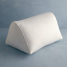 Firm, 95% Feather/5% Down Knee Wedge Pillow