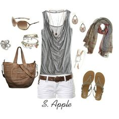 Polyvore Summer Outfits | Honey, created by sapple324 on Polyvore by karen.x