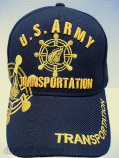 175416b1190 U.S. ARMY TRANSPORTATION Embroidery Hat Cap Hat Embroidery