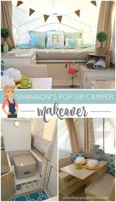Shannon's Pop Up Camper Makeover - The Pop Up Princess