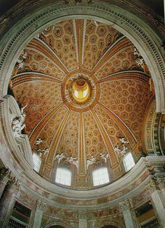 Bernini (San Andrés del Quirinal, cúpula)