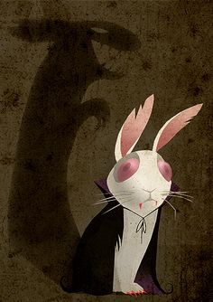 Bunnicula - I loved these books as a kid! Go figure.