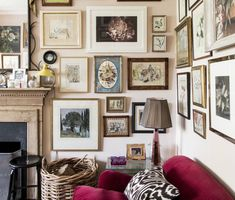 """Don't mistake eclectic style for """"anything goes."""" Joybird recommends putting a cap on the number of contrasting styles in each room to avoid a cluttered feeling."""