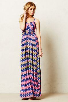 Leda Maxi Dress - anthropologie.com