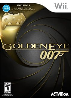 http://videogamesideas.info/james-bond-007-goldeneye-007-classic-edition-hardware-bundle-with-gold-wii-classic-controller-pro/ - A new golden eye for a new Bond. The GoldenEye story comes to life once again with an updated single...
