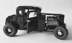Another day, another Elf returns to TLCB Towers in the hope of a meal token.A token said Elf was duly granted, because this Ford Model-A 'five window' hot rod is right up our alley. Fe…