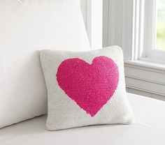 Find kids pillows in cute designs at Pottery Barn Kids. Shop kids throw pillows that will add style and personality to the playroom. Boy And Girl Shared Bedroom, Big Girl Rooms, Teen Bedroom, Kids Rooms, Bedroom Decor, Kids Pillows, Throw Pillows, Pillow Drawing, Happy Design