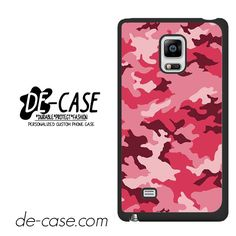Pink Camouflage DEAL-8649 Samsung Phonecase Cover For Samsung Galaxy Note Edge