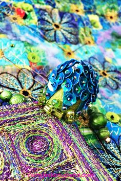 Throw caution to the wind and make magic through your textile and fibre art. #creativity #inspiration #textileart #fibreart #embroidery Fibre Art, Textile Artists, The Conjuring, Illusions, Medieval, Creativity, Textiles, Magic, Embroidery