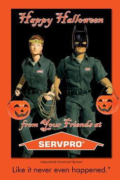 Happy Halloween from #SERVPRO!