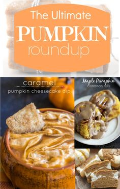 The Ultimate Pumpkin Recipe Roundup! - Creme De La Crumb