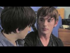 JUDAS KISS - Welcome to the magical Keystone Summit University, where washed-up filmmaker Zachary Wells (Charlie David) confronts hot young student Danny Reyes (Richard Harmon), and discovers the past may be the only place where he can truly find himself. Also starring Brent Corrigan, Timo Descamps and Julia Morizawa. #GayMovie #LGBTQ #QueerTV #CharlieDavid #BrentCorrigan #TimoDescamps #RichardHarmon #JuliaMorizawa Love Movie, I Movie, The Time Traveler's Wife, Movie Website, Sean Paul, Character Development, Official Trailer, The Cw, Love People