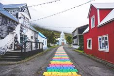 Fjord, Brick Road, Iceland, Travel Photos, How To Memorize Things, To Go, Sidewalk, Places, Travelling