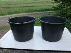 Growing Potatoes in Buckets : 4 Steps (with Pictures) - Instructables Grow Potatoes In Container, Planting Potatoes, Container Gardening Vegetables, Vegetable Garden, Winter Vegetables, Growing Vegetables, Garden Crafts, Garden Projects, Garden Ideas