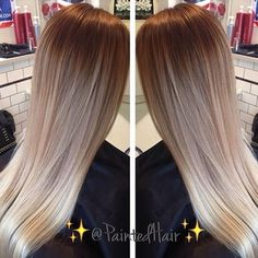 this is what i want but darker!!! the blend of colors from dark to light is FLAWLESS