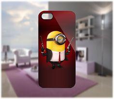 Minion Hitman Case for iPhone 5/4/4S Samsung Galaxy S2/S3/S4 Blackberry Z10 - PDA Accessories