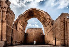 Palace of Taq-i Kisra | Arch of Ctesiphon | Al-Mada'in (53340 AD)