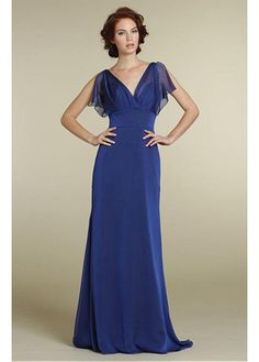 Fabulous  A-line V neckline Bridesmaid Dress