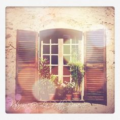 House window in Cotignac Provence, Windows, Mirror, Pictures, House, Furniture, Home Decor, Photos, Decoration Home